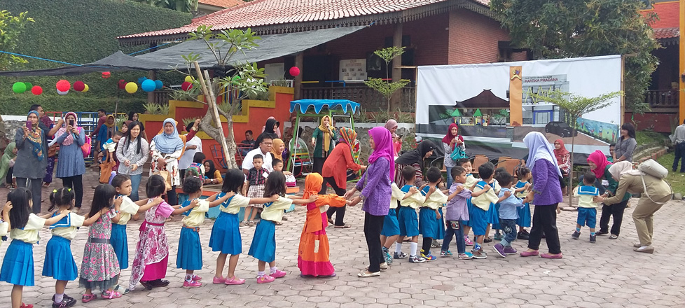 Hari Pertama Sekolah di PAUD Kartika Pradana